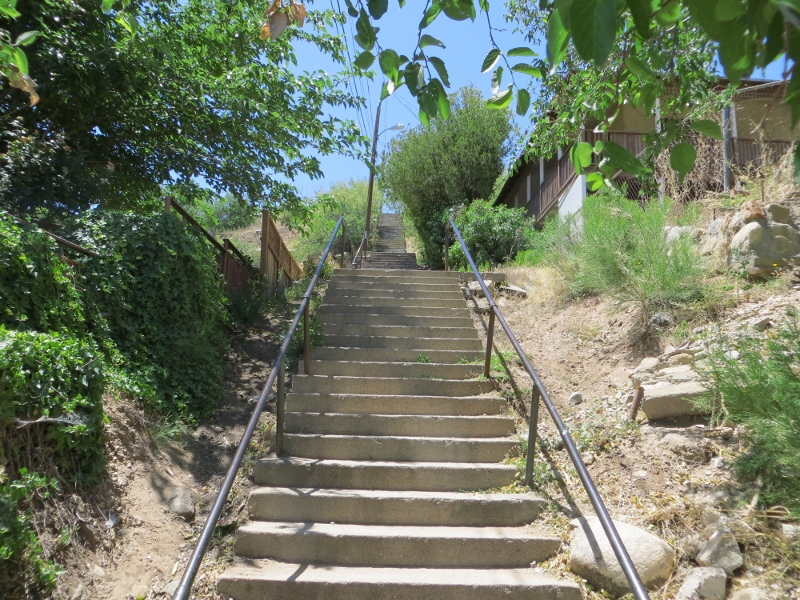 The Forrest stairway has 112 steps.