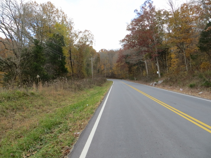 U.S. 41 at the base of Monteagle Mountain. Once the road turns, it starts climbing to the top.