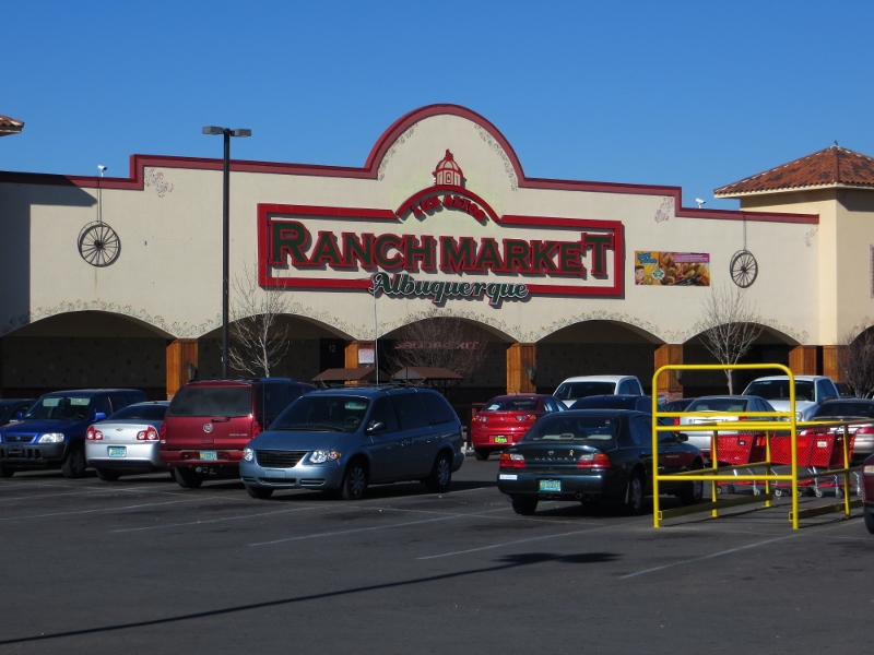Here is the Los Altos Ranch Market. A tour of the inside would be worth a blog post of its own.