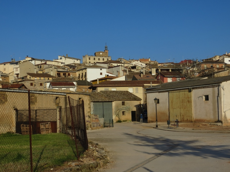 When you approach a town built on hill like Cirauqui, you know you are going to find stairs.