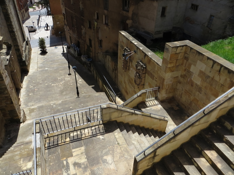 Stairway in Navarette.