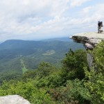 As you can see the Appalachian Trail also has wonderful scenery.