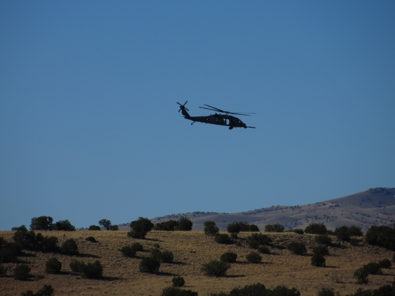 And on some days, your quiet will be interrupted. The Air Force Special Forces trains in the area.