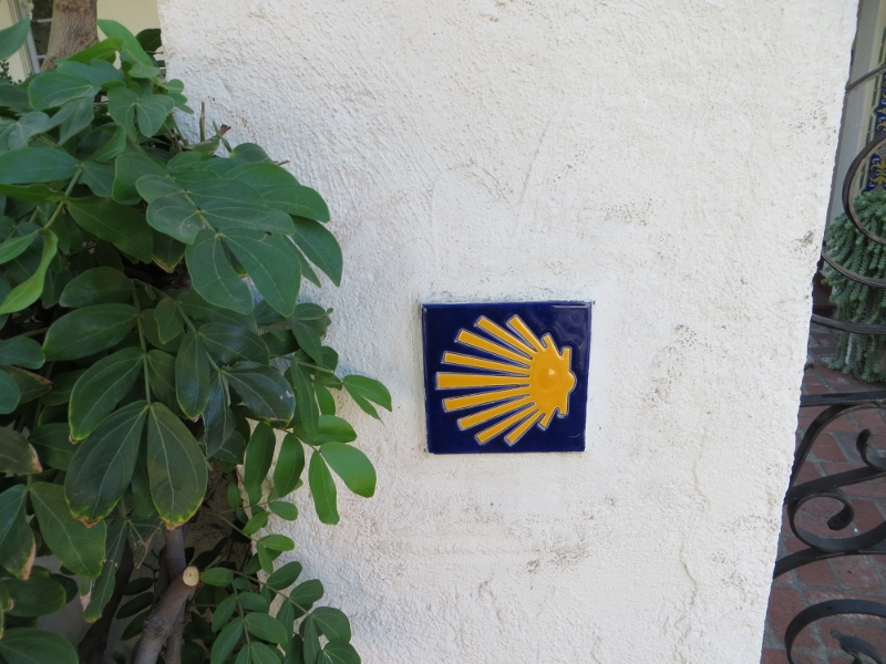 I must have seen thousands of this shell symbol when I walked the Camino.