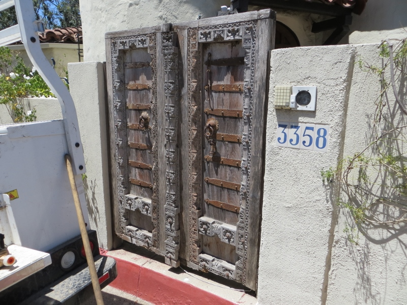 I thought these old Spanish doors were cool.