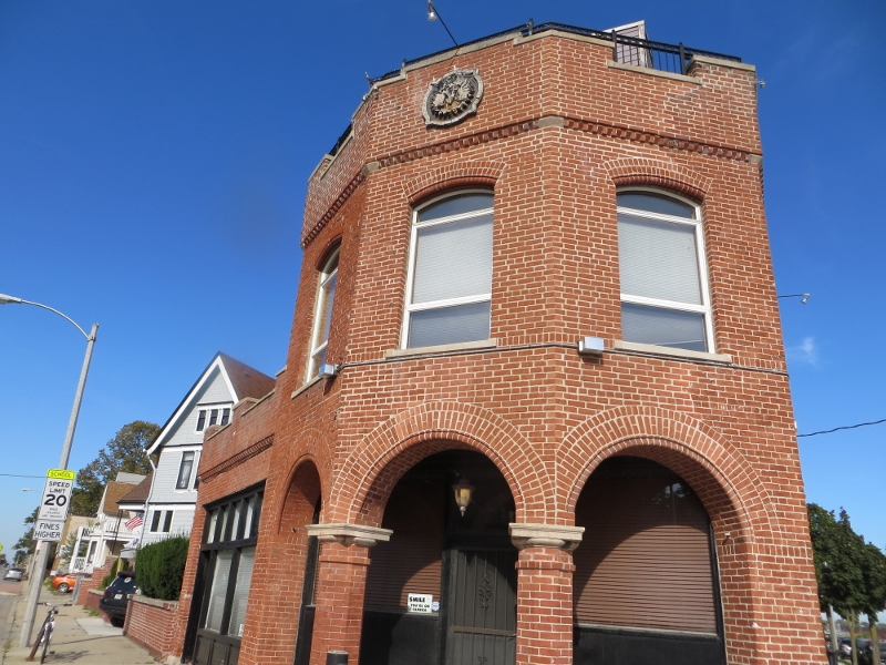 And just up the street is was red brick example of the Midwest's tavern culture.