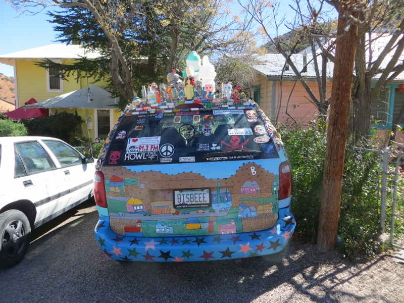 Or this station wagon in Bisbee.
